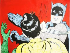 schiaffo batman