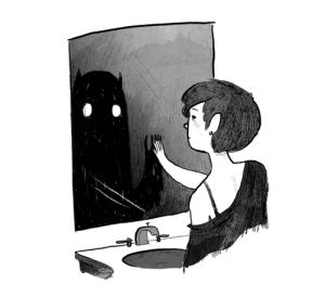 Mostro allo specchio
